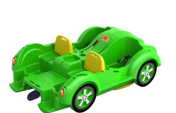 Водный велосипед Kolibri mini Beetle Green-Yellow
