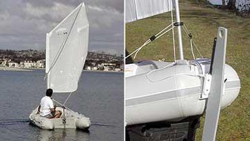 паруса для лодки пвх