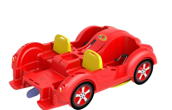 Водный велосипед Kolibri mini Beetle Red-Yellow