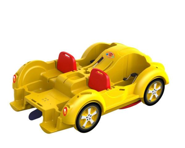 Водный велосипед Колибри мини Beetle Yellow Red