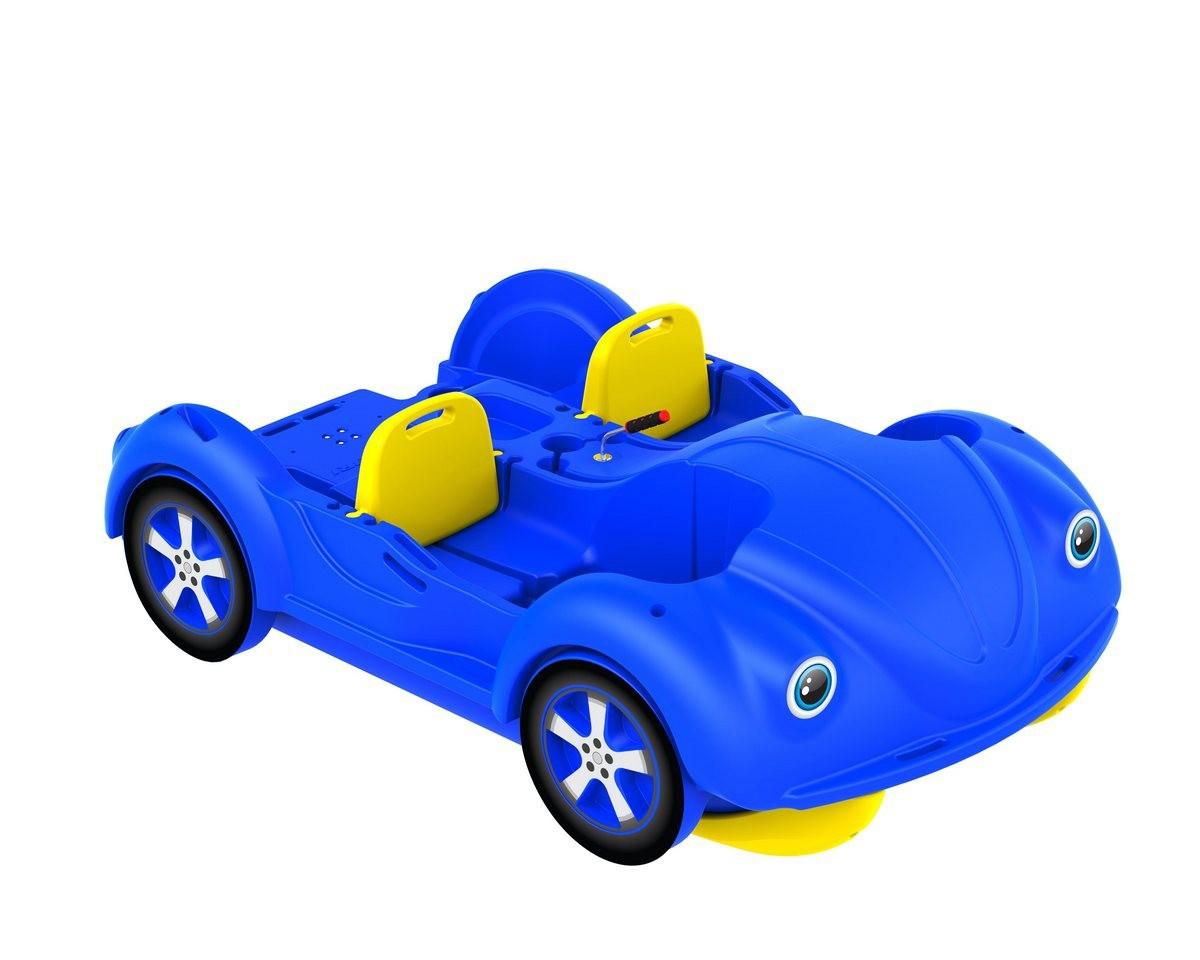 Водный велосипед Kolibri mini Beetle Blue-Yellow
