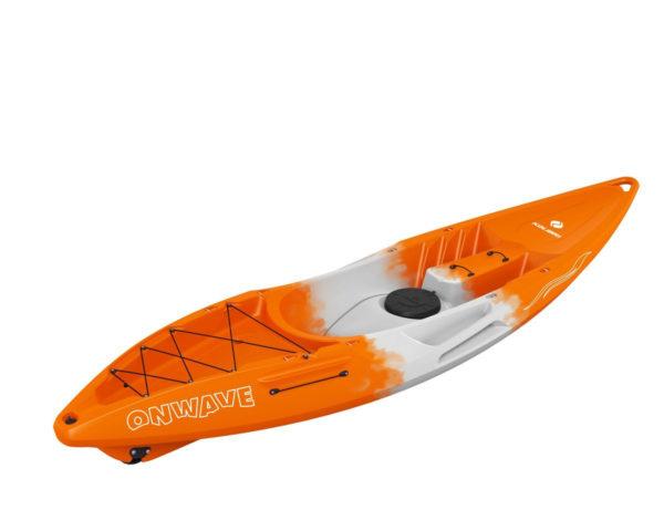 Каяк колибри OnWave-300 оранжевого цвета