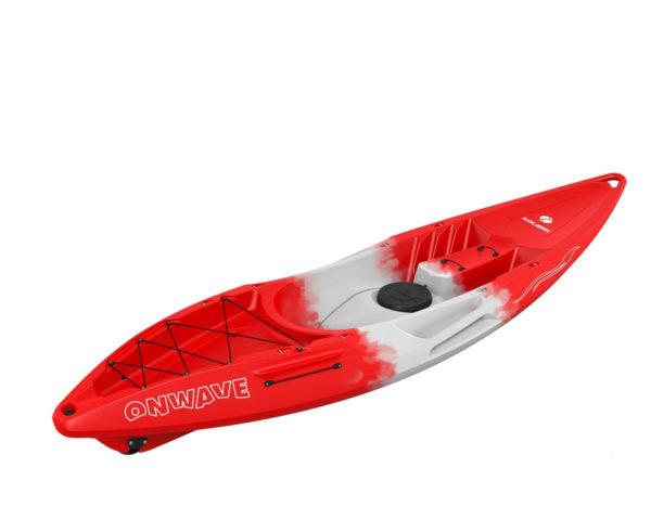 Каяк колибри OnWave-300 красного цвета