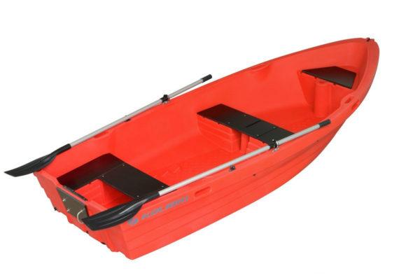 Моторно-гребная пластиковая лодка Колибри